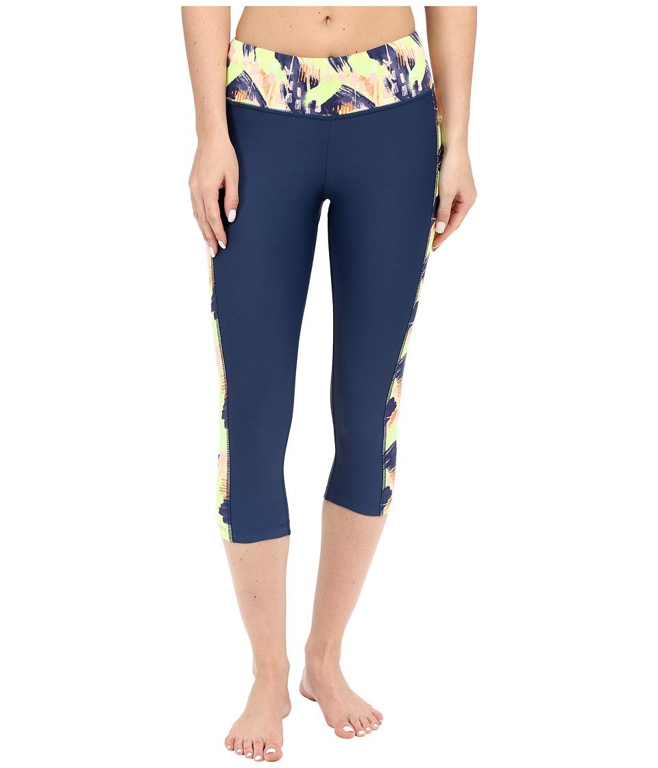 Maaji Sunlit Soul Capri Pants Multicolor Womens Casual Pants