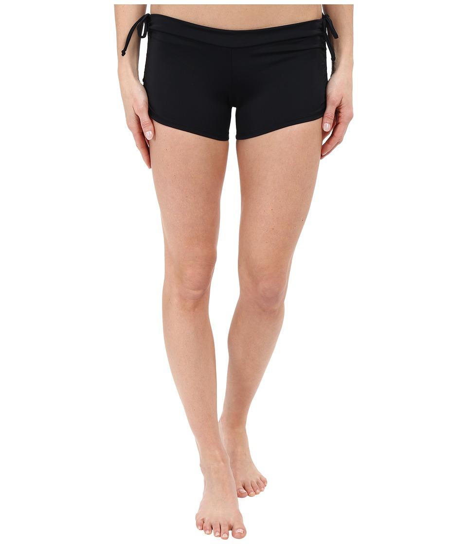 Onzie Side String Shorts Black Womens Shorts
