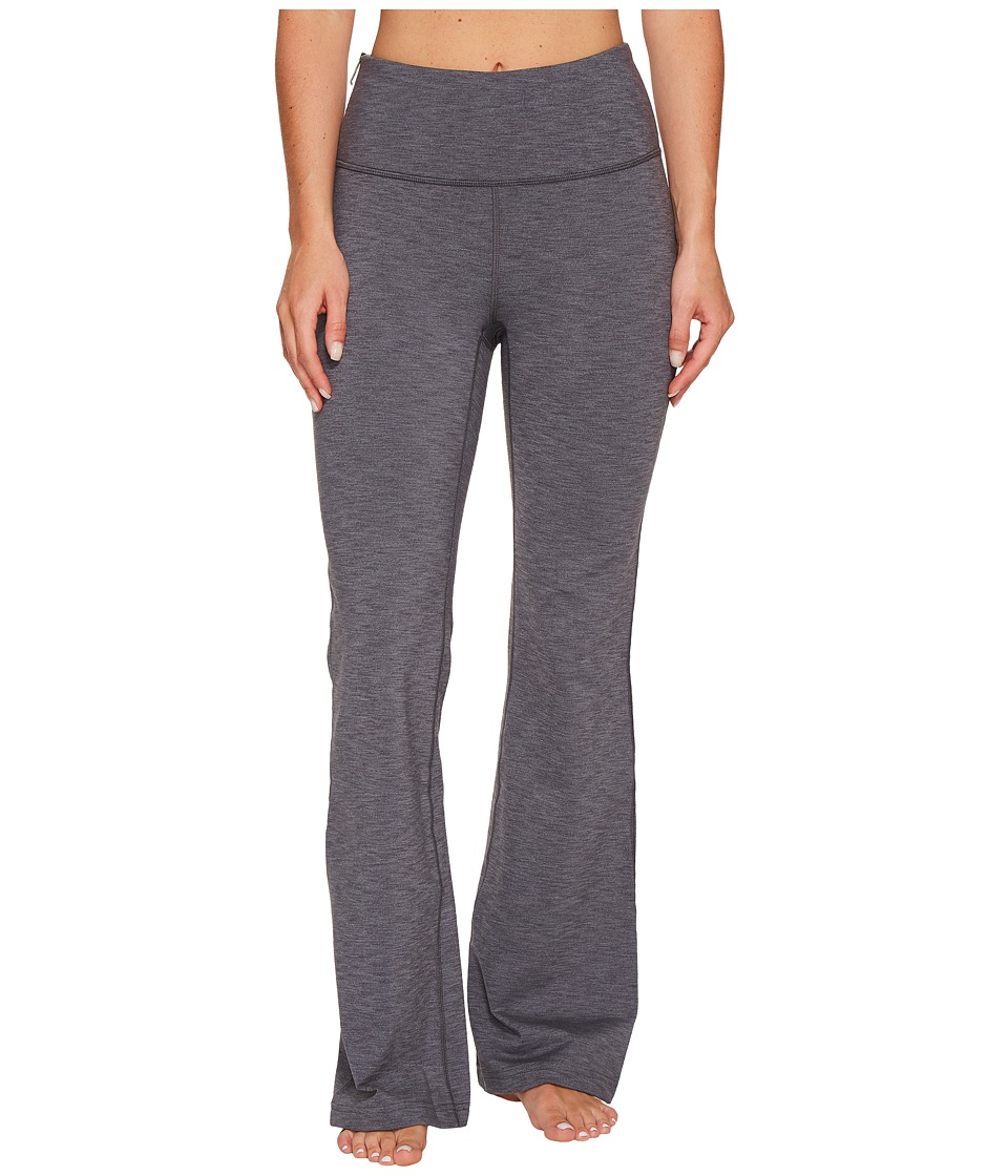 Lucy Strong Is Beautiful Flare Pants (Silver Filigree Tonal Heather) Women