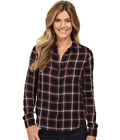Calvin Klein Jeans - Plaid Crinkle Double Cloth Long Sleeve Woven