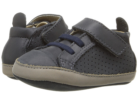Old Soles Cheer Bambini (Infant/Toddler) - Distressed Navy/Elephant Grey
