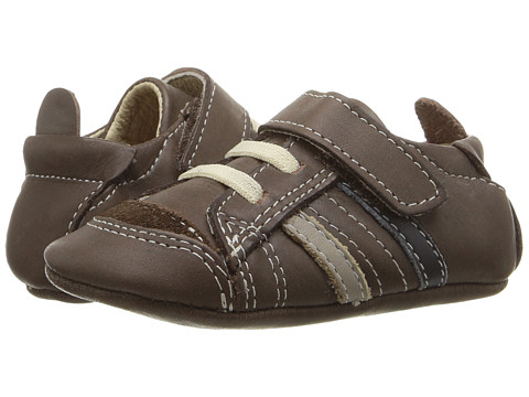 Old Soles Urban Edge (Infant/Toddler) - Distressed Brown/Elephant Grey/Navy