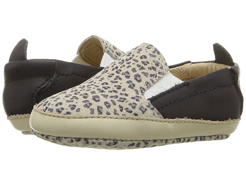 Old Soles Bambini Hoff (Infant/Toddler) - Cat/Distressed Black/Champagne