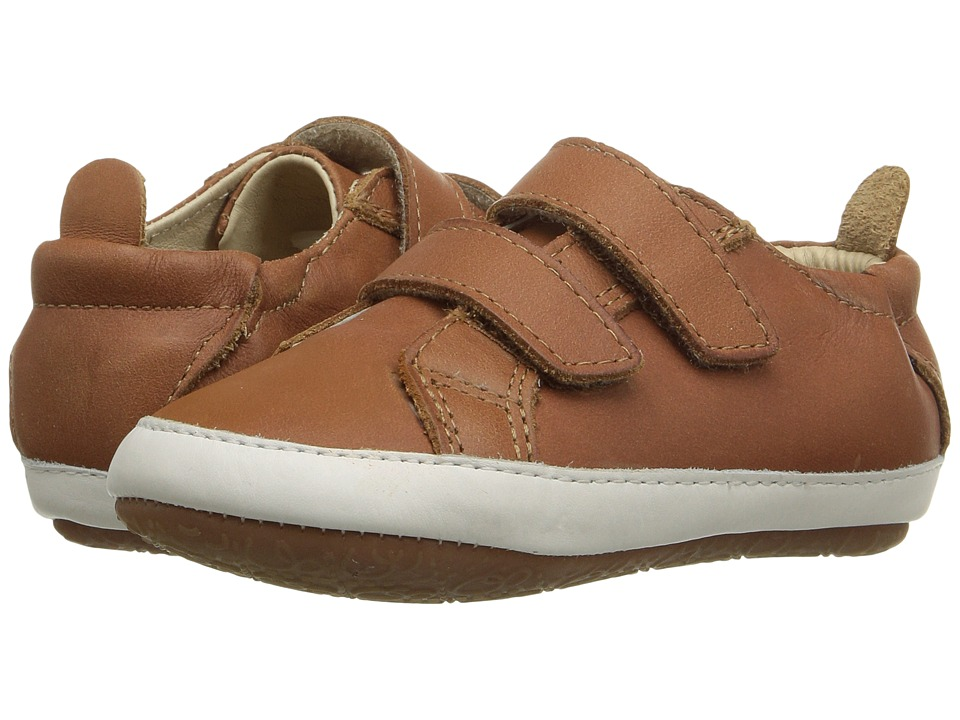 Image of Old Soles - Bambini Markert (Infant/Toddler) (Tan/White) Boy's Shoes