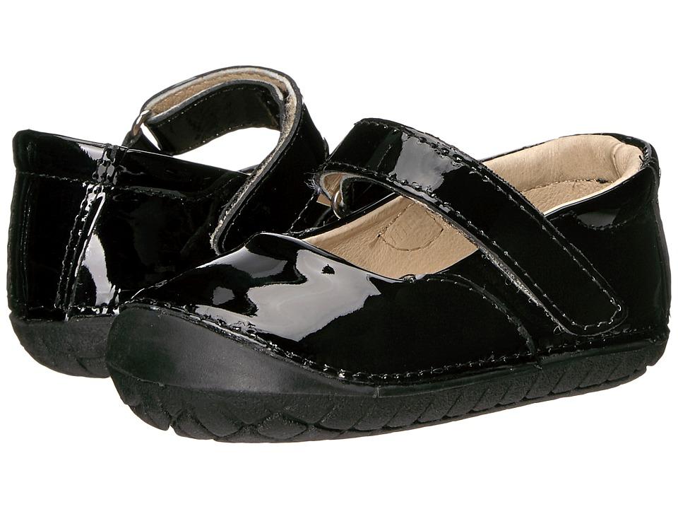 Old Soles Pave Jane (Infant/Toddler) (Black Patent) Girls...
