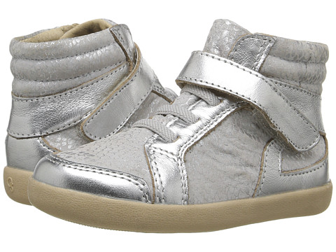 Old Soles Frosty High Top (Toddler/Little Kid) - Silver Python/Silver