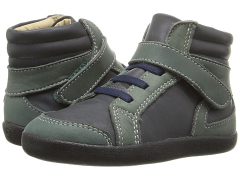 Old Soles Woolfy (Toddler/Little Kid) - Distressed Navy/Emerald
