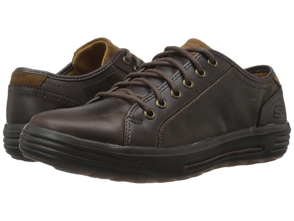 SKECHERS Classic Fit Porter Ressen (Chocolate Leather) Men