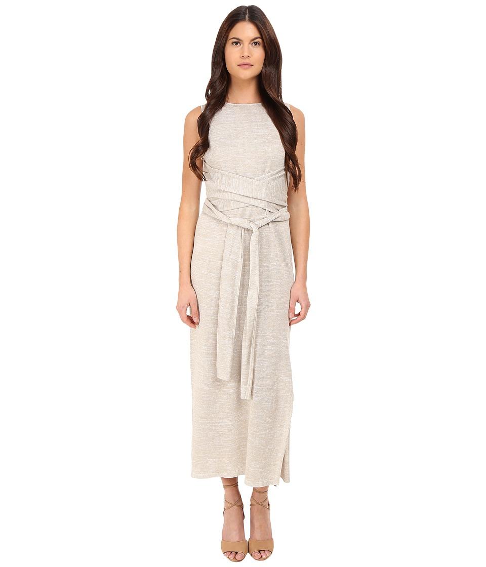 Theory Dantine Sag Harbour Dress White/Natural Womens Dress
