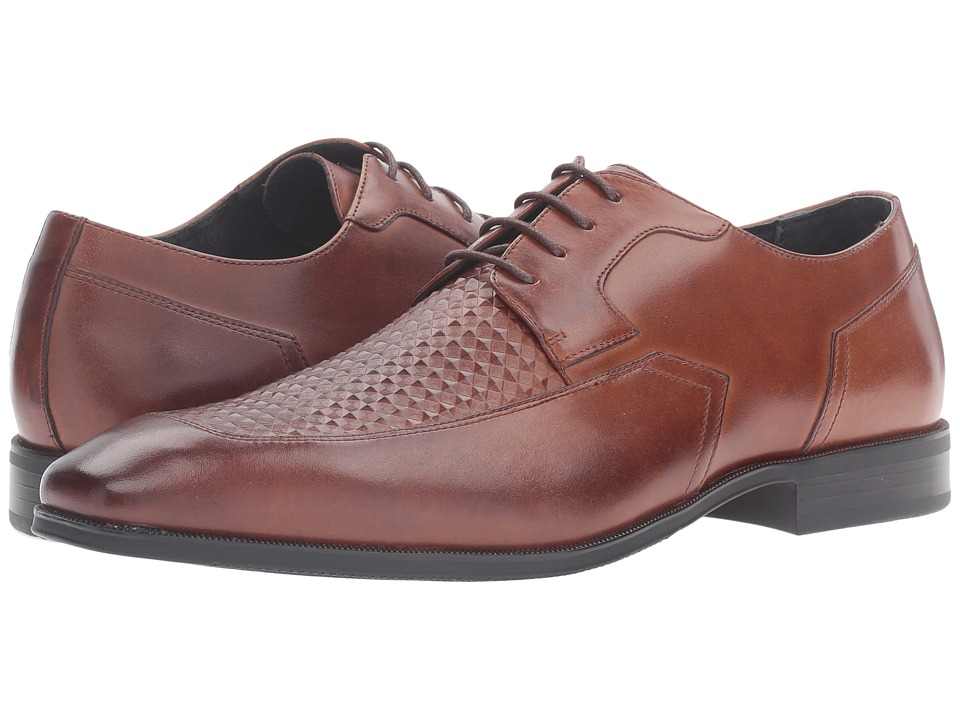 Stacy Adams Faxon Moc Toe Oxford (Cognac) Men