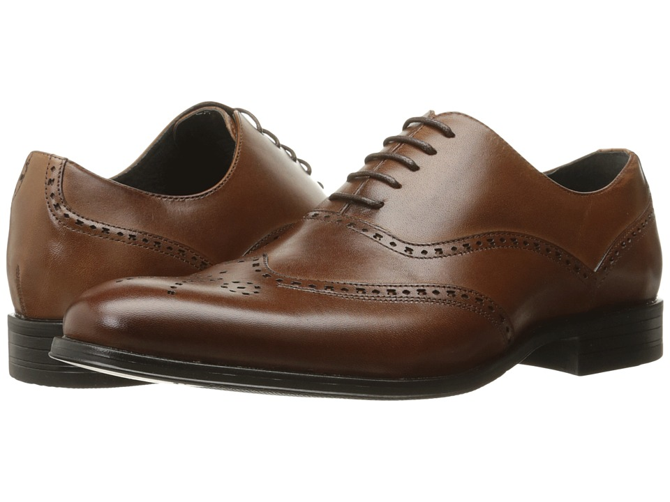 Stacy Adams Stockwell Wingtip Oxford (Cognac) Men