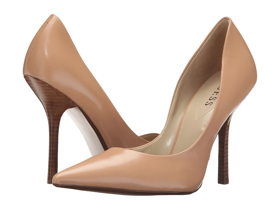 Guess Carrie (Natural Leather II) High Heels