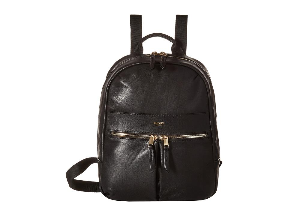 KNOMO London - Mini Beaux Backpack (Black) Backpack Bags