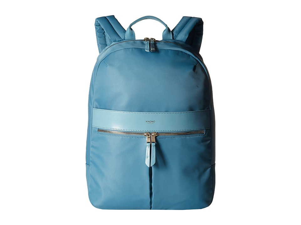 KNOMO London Beauchamp Laptop Backpack Sea Backpack Bags
