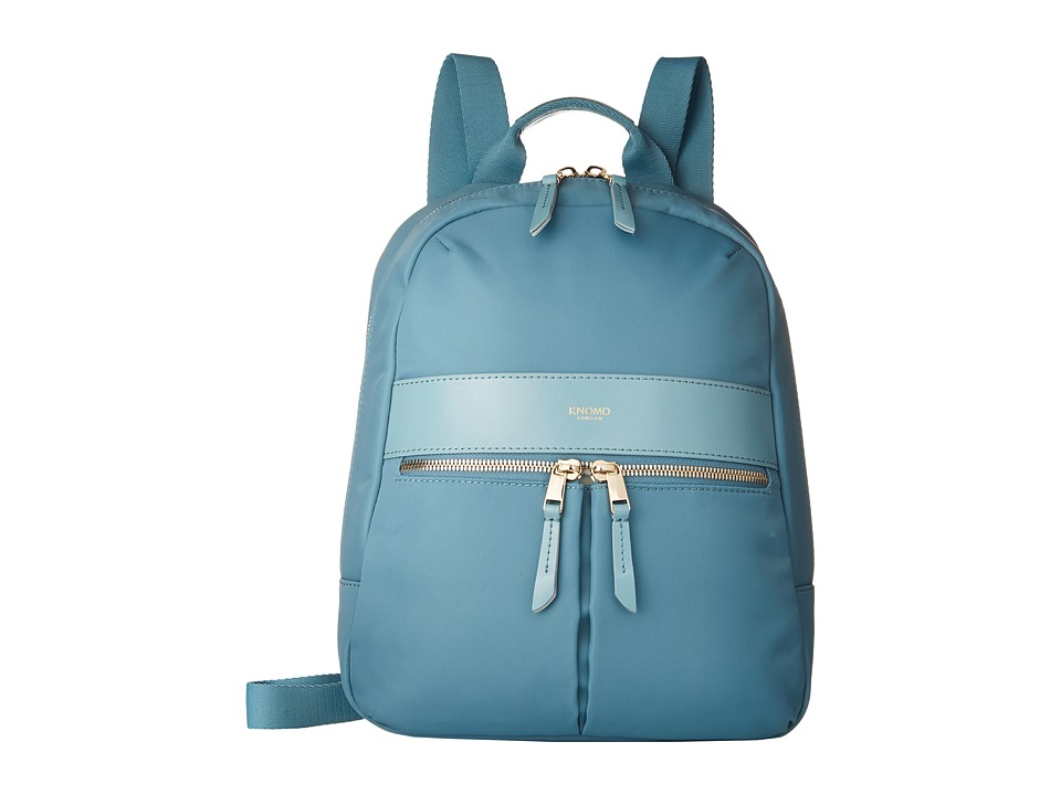 KNOMO London - Baby Beauchamp Mini Backpack (Sea) Backpack Bags