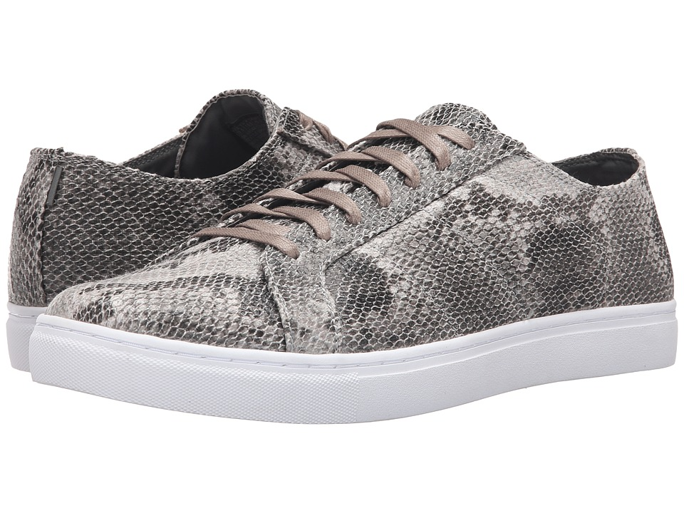 Mark Nason - Rowher (Snake Print Canvas/White) Men