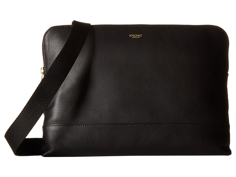 KNOMO London - Molton Crossbody Bag (Black) Cross Body Handbags