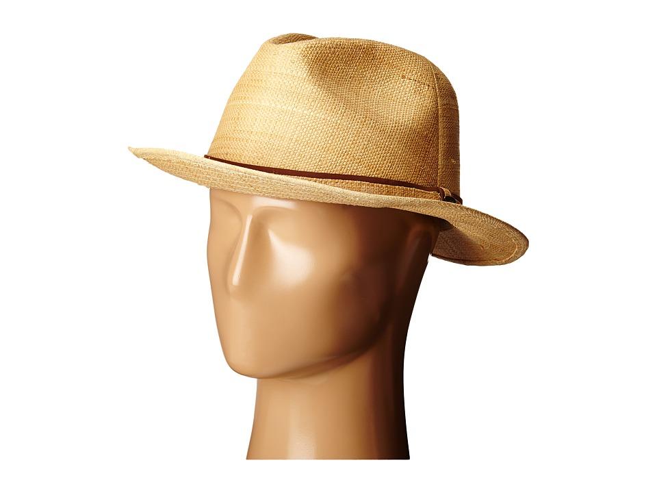 SCALA Matte Raffia Safari Natural Safari Hats