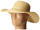 SCALA Bangkok Toyo Big Brim with Wood Bead Trim (Natural)