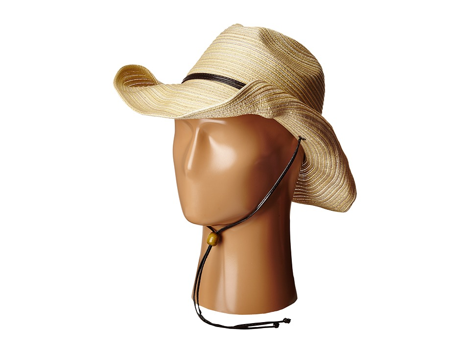 SCALA Poly Braid Western with Chin Cord Natural Caps