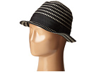 SCALA Ribbon Braid Fedora (Black)