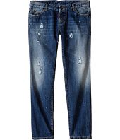Dsquared2 Kids - Pat Jeans w/ Bleached Spots (Big Kids)