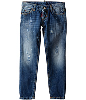 Dsquared2 Kids - Pat Jeans w/ Bleached Spots (Little Kids/Big Kids)