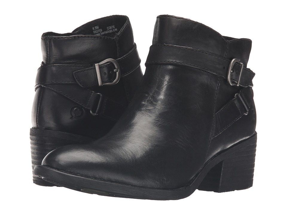 Born Binghamton (Black Full Grain Leather) Women