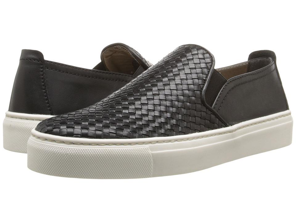 The FLEXX Sneak Name (Black Elba Intreccio) Slip-On Shoes