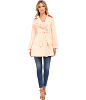 Jessica Simpson - Belted Ruffle Trench