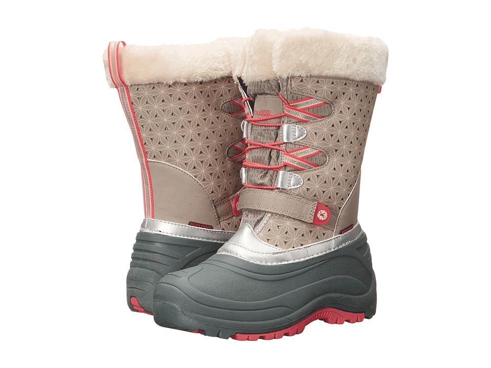 Jambu Kids Nydia (Toddler/Little Kid/Big Kid) (Grey/Pink) Girls Shoes