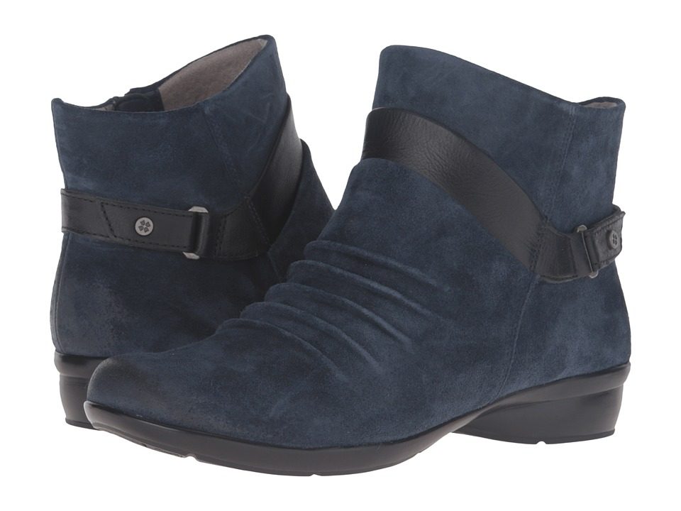 Naturalizer - Caldo (Classic Navy Suede/Black Leather) Women