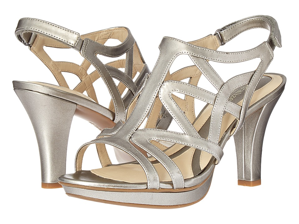 Naturalizer Danya (Pewter Pearlized) Sandals