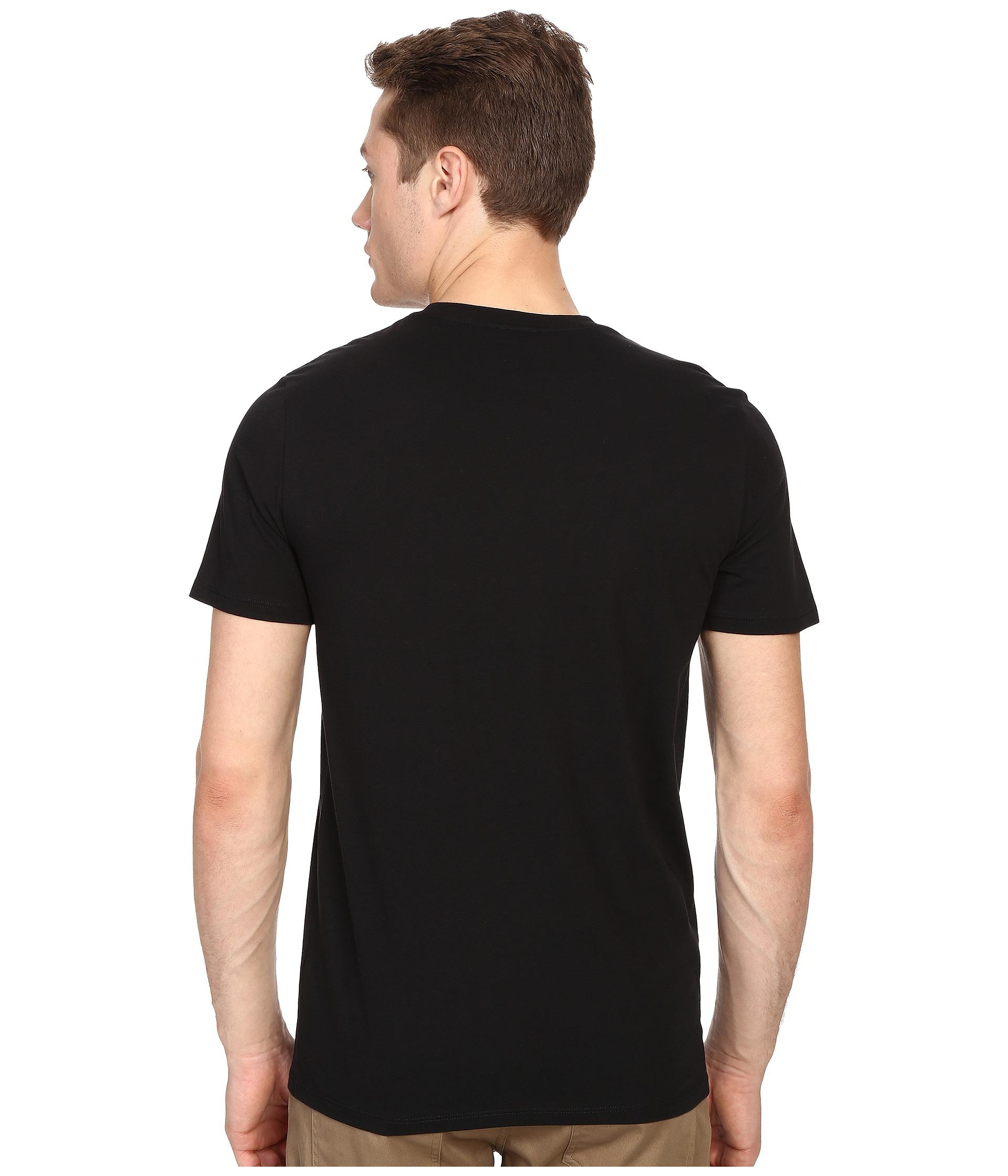 Vince short sleeve pima cotton crew neck shirt at for Pima cotton crew neck t shirt