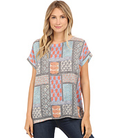 Nally & Millie - Tile Print Sweater Tunic