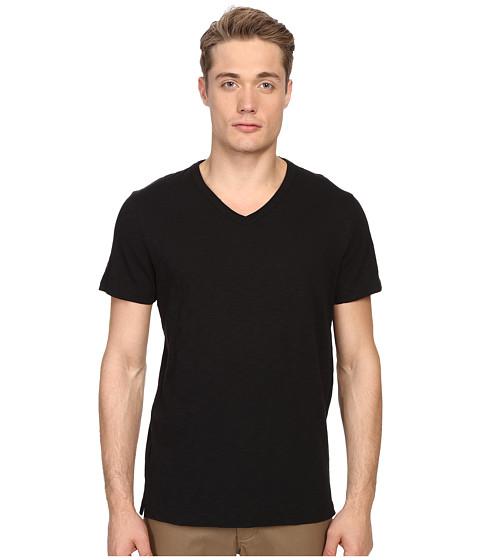 Vince Short Sleeve Slub V-Neck Shirt