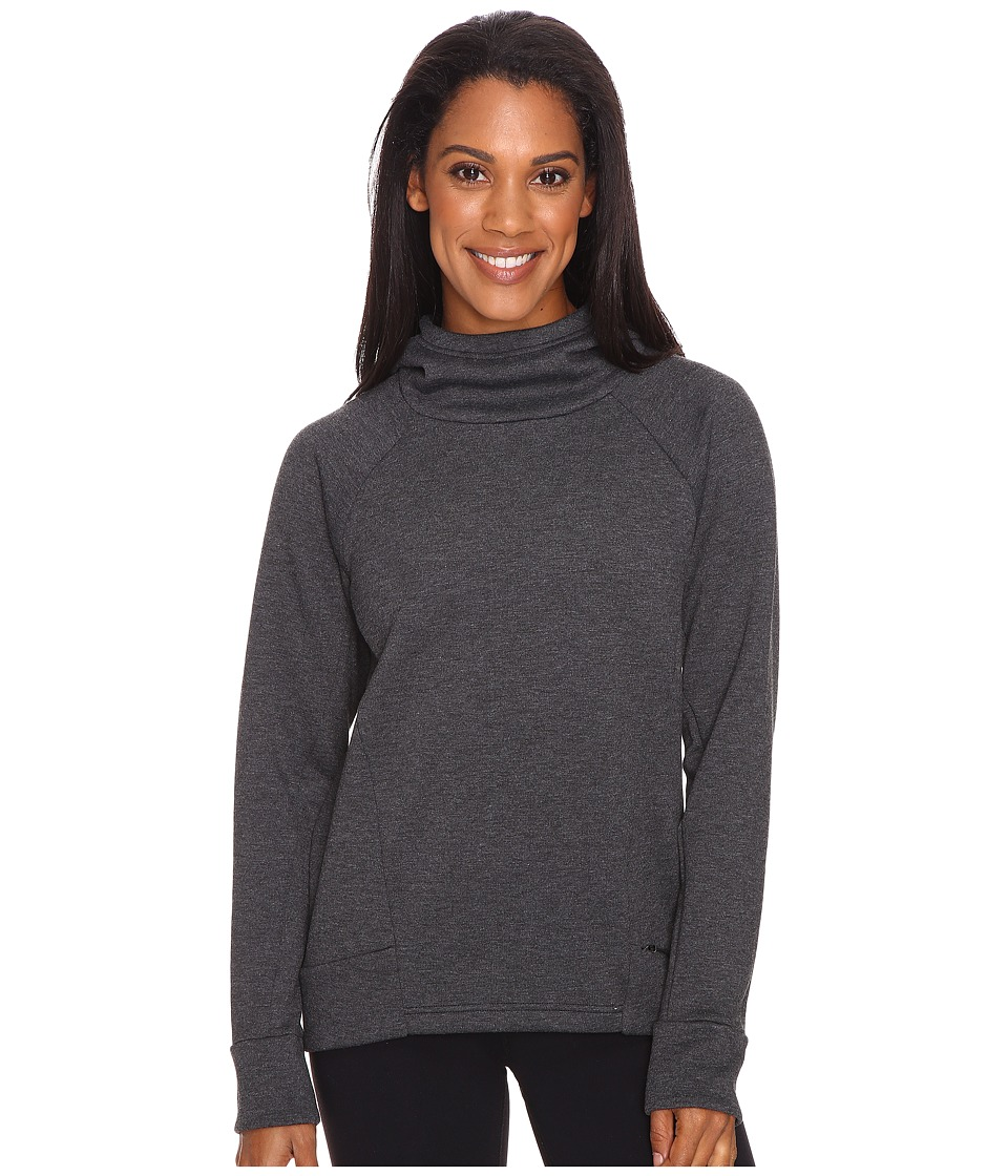 Lucy Lucy Lux Fleece Pullover (Lucy Black Heather) Women