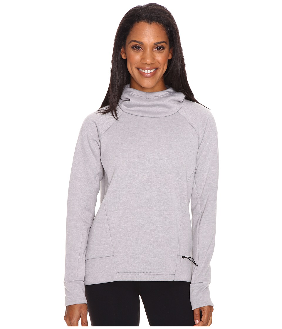Lucy Lucy Lux Fleece Pullover (Silver Filigree Heather) Women