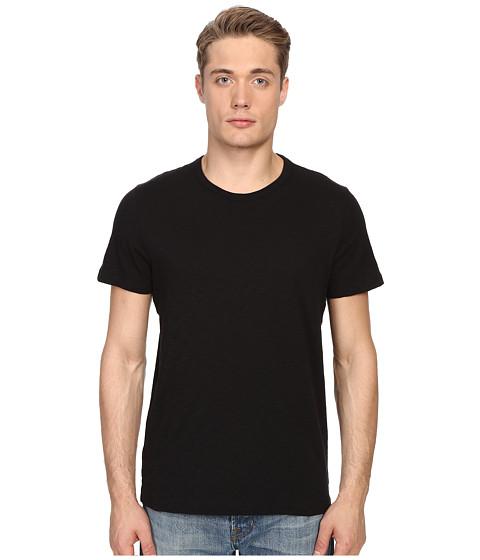 Vince Short Sleeve Slub Crew Neck Shirt