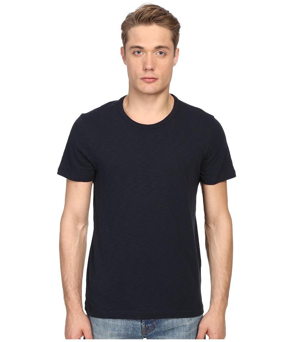 Vince - Short Sleeve Slub Crew Neck Shirt