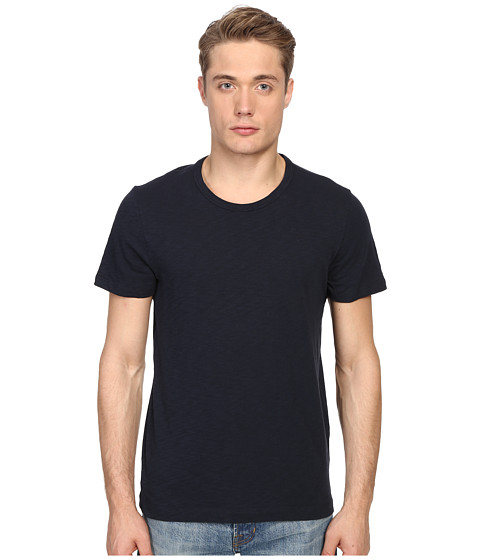Vince Short Sleeve Slub Crew Neck Shirt