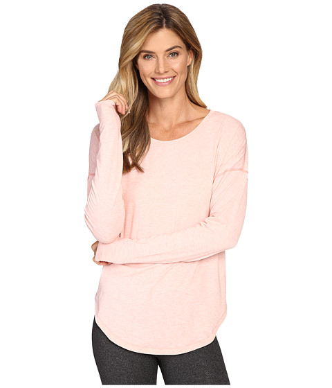 Lucy Final Rep Long Sleeve Top - Rose Gold Heather