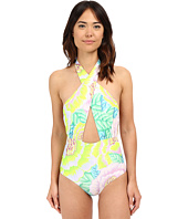 Mara Hoffman - Cross Front Halter One-Piece