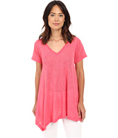 Nally & Millie - Short Sleeve V-Neck Sharkbite Tunic