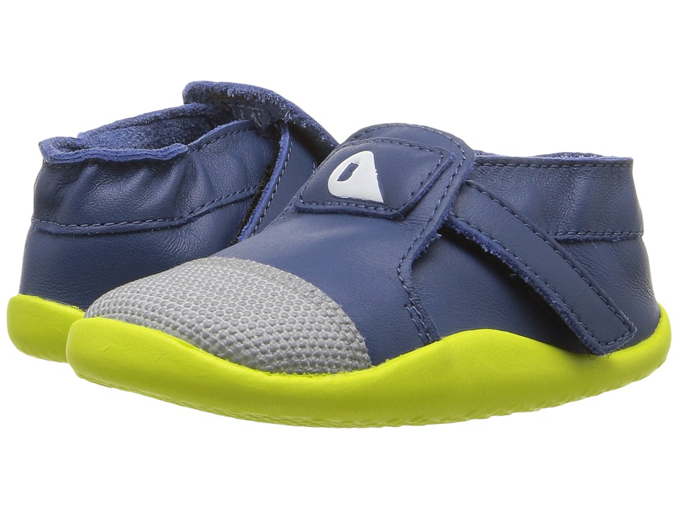 Bobux Kids - Play Xplorer Origin (Infant/Toddler) (Cobalt/Yellow) Boys Shoes