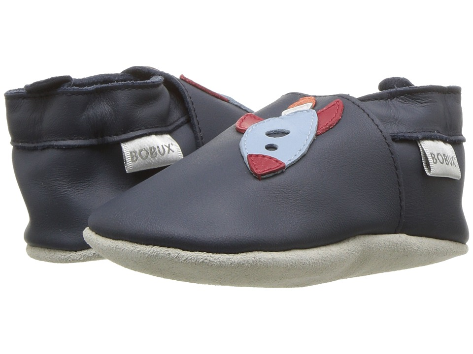 Bobux Kids - Soft Sole Rocket (Infant) (Navy) Boys Shoes