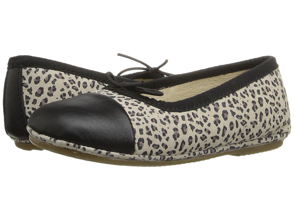 Old Soles - Electric Flat (Toddler/Little Kid) (Cat/Black/Black) Girls Shoes