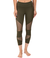 Onzie - Olive Cut Out Capris