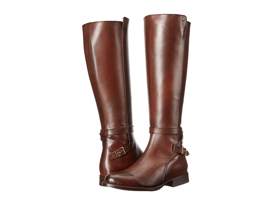 Frye Jordan Strap Tall (Whiskey Smooth Veg Calf) Women's ...