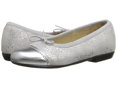 Old Soles Brule Toe Tip (Toddler/Little Kid) - Silver Python/Silver